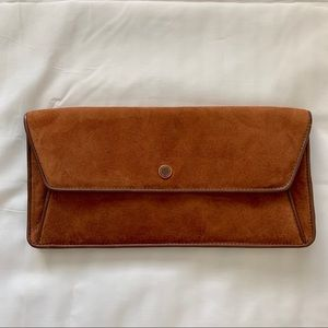 Marc By Marc Jacobs Suede Leather Clutch